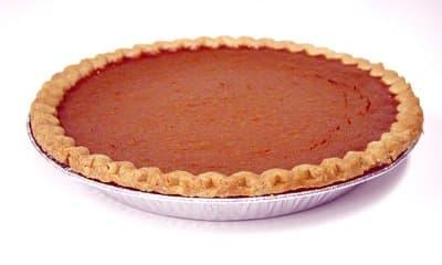 Pumpkin Pie Baked