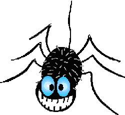 Spider Grinning